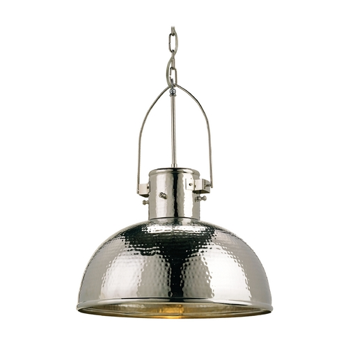 Currey and Company Lighting Modern Pendant Light in Nickel Finish 9696
