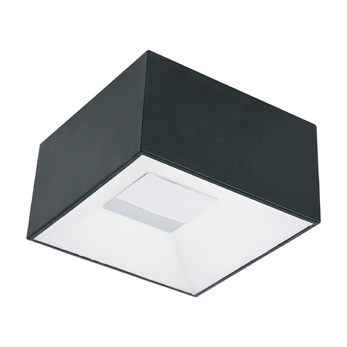ET2 Lighting Modern LED Flushmount Light in Black Finish E21360-61BK