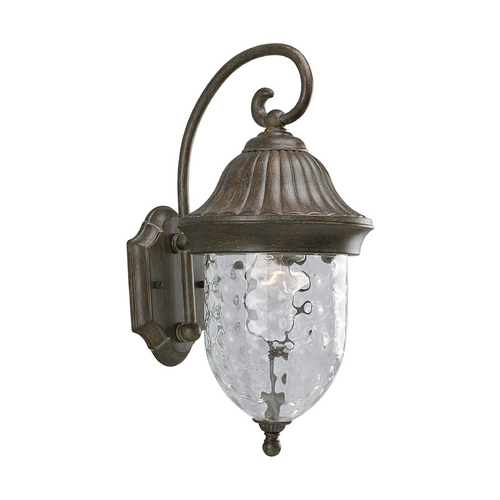 Progress Lighting Progress Outdoor Wall Light with Clear Glass in Fieldstone Finish P5828-87