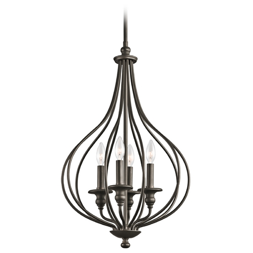 Kichler Lighting Kichler Pendant Light in Olde Bronze Finish 43332OZ