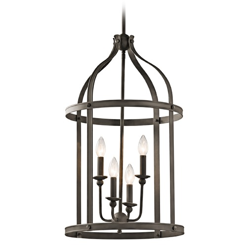 Kichler Lighting Kichler Lighting Steeplechase Olde Bronze Pendant Light 43107OZ