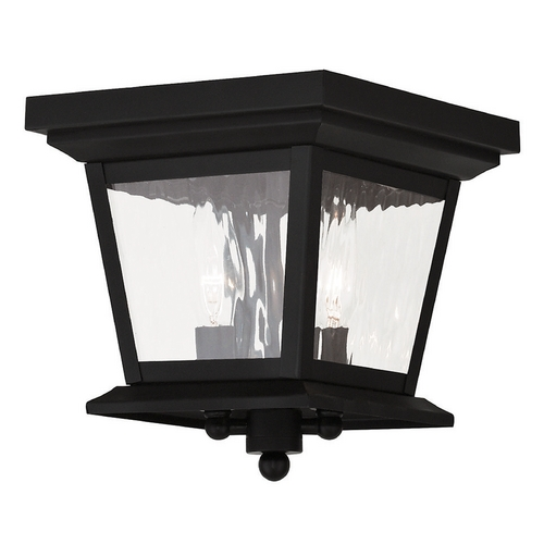 Livex Lighting Livex Lighting Hathaway Black Close To Ceiling Light 20230-04