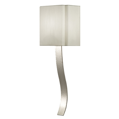 Fine Art Lamps Fine Art Lamps Grosvenor Square Polished Nickel Sconce 211350ST