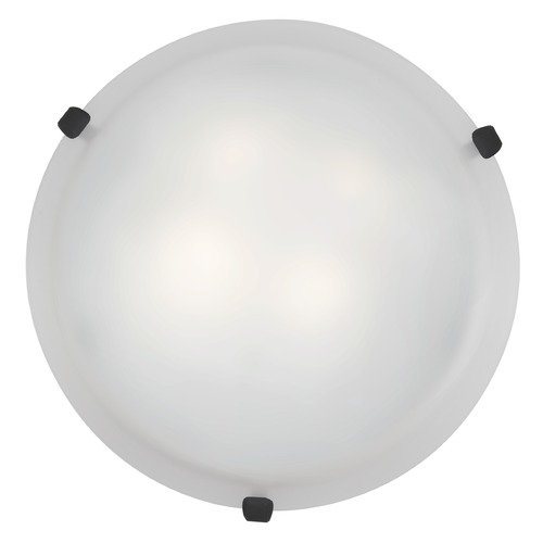 Access Lighting Access Lighting Mona Rust LED Flushmount Light 23019LEDD-RU/WH