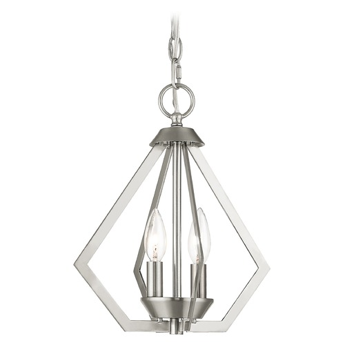 Livex Lighting Livex Lighting Prism Brushed Nickel Mini-Chandelier 40922-91