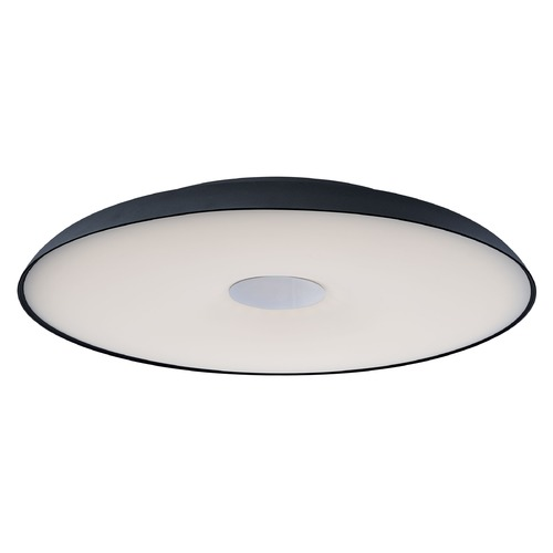 ET2 Lighting ET2 Dimple Black LED Flushmount Light E22622-BK
