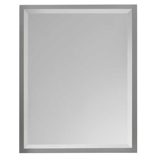 Feiss Lighting Halstad Rectangle 24-Inch Mirror MR1093BS