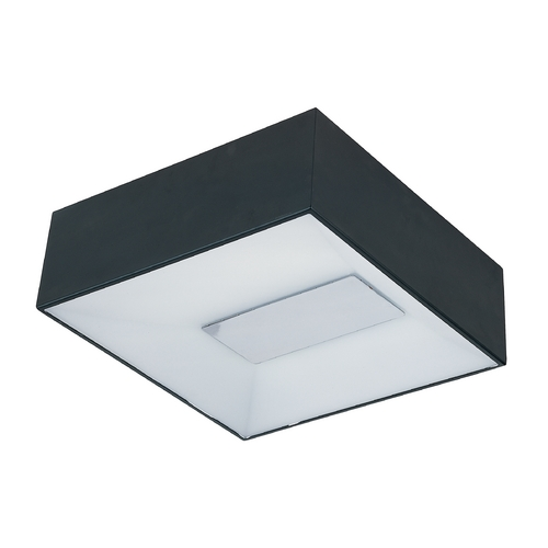 ET2 Lighting Modern LED Flushmount Light in Black Finish E21362-61BK