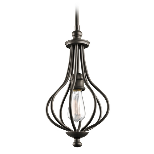 Kichler Lighting Kichler Mini-Pendant Light in Olde Bronze Finish 43333OZ
