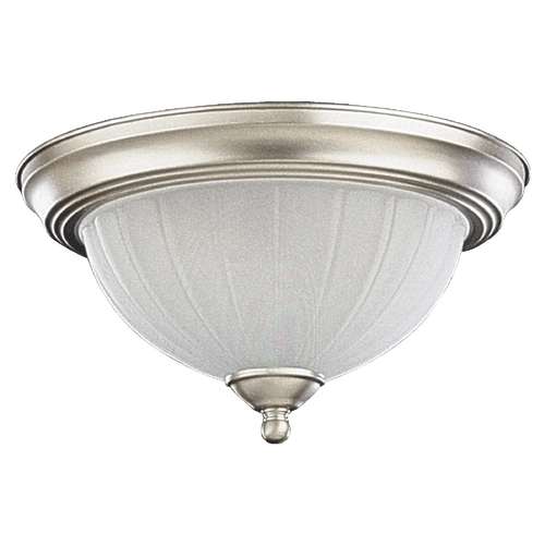 Quorum Lighting Quorum Lighting Satin Nickel Flushmount Light 3074-11-65