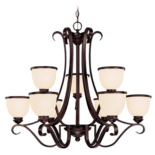 Savoy House Savoy House English Bronze Chandelier 1-5778-9-13