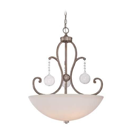 Quoizel Lighting Quoizel Ambrose Vintage Gold Pendant Light AMB2822VG