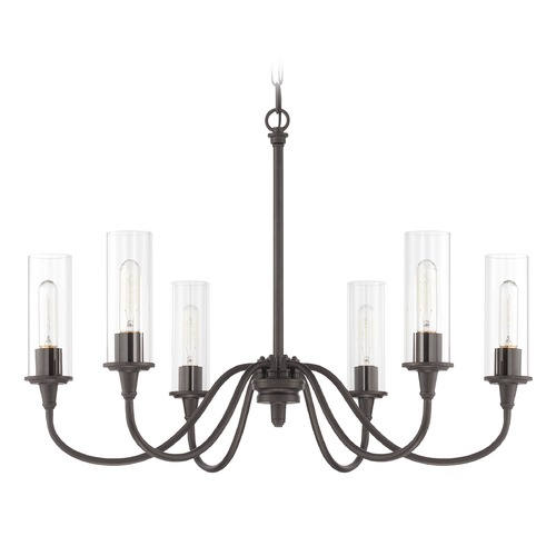 Jeremiah Lighting Jeremiah Lighting Modina Espresso Chandelier 38026-ESP