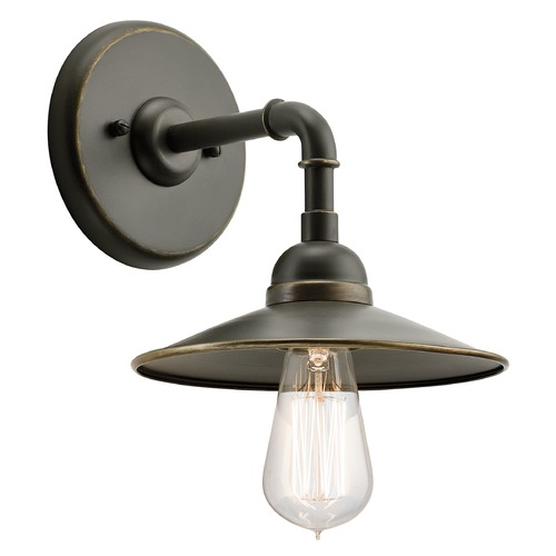 Kichler Lighting Kichler Lighting Westington Olde Bronze Outdoor Wall Light 49585OZ