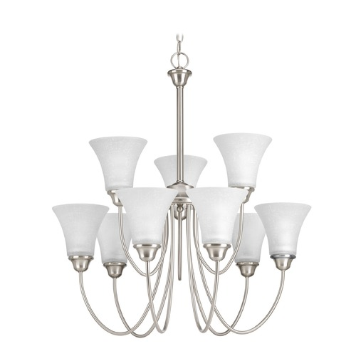 Progress Lighting Progress Lighting Tally Brushed Nickel Chandelier P4743-09