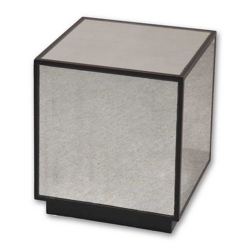 Uttermost Lighting Accent Table in Aged Black Finish 24091