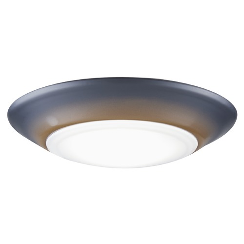 Design Classics Lighting LED Low Profile Bronze Flush Mount Ceiling Light - 2700K and 75-Watt Equivalent DFR615-H-927-BZ  2700K 90CRI 1000LM
