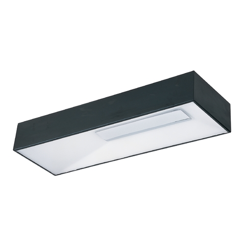 ET2 Lighting Modern LED Flushmount Light in Black Finish E21364-61BK