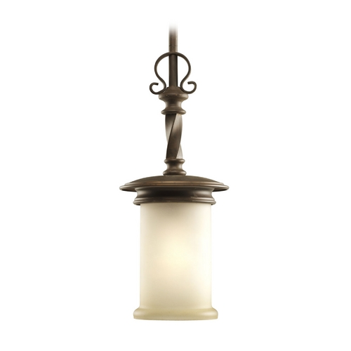 Progress Lighting Progress Mini-Pendant Light with Beige / Cream Glass P5076-102