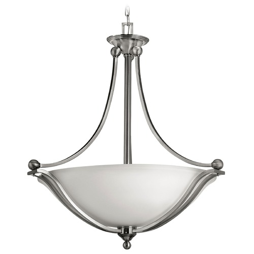 Hinkley Lighting Four-Light Pendant with Diffuser 4664BN