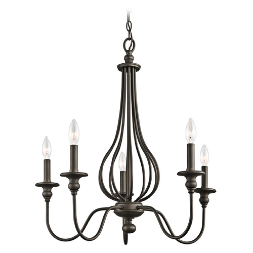Kichler Lighting Kichler Chandelier in Olde Bronze Finish 43330OZ