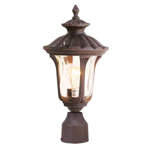 Livex Lighting Livex Lighting Oxford Imperial Bronze Post Light 7667-58