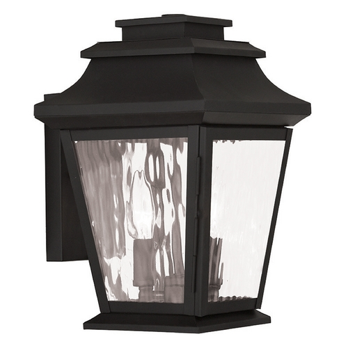 Livex Lighting Livex Lighting Hathaway Black Outdoor Wall Light 20232-04