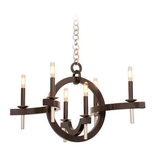 Kalco Lighting Kalco Lighting Lunaire Old Bronze Chandelier 6307OB-1
