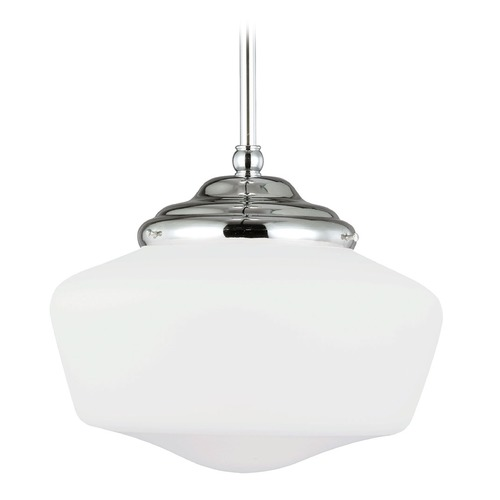 Sea Gull Lighting Sea Gull Lighting Academy Chrome Pendant Light 65437BLE-05