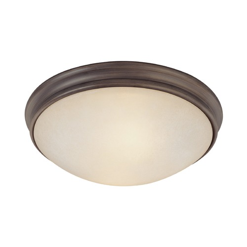 Capital Lighting Capital Lighting Oil Rubbed Bronze Flushmount Light 2042OR