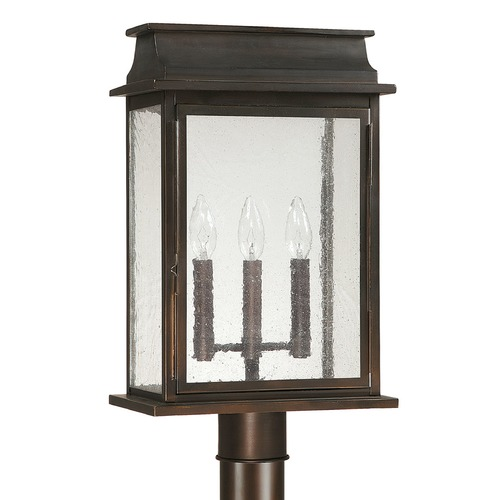 Capital Lighting Capital Lighting Bolton Old Bronze Post Light 9665OB