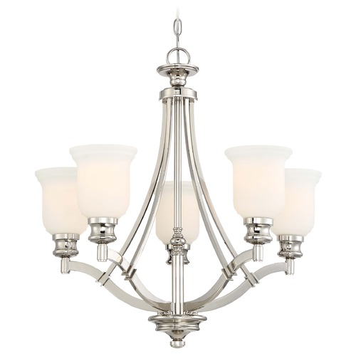 Minka Lavery Minka Audrey's Point Polished Nickel Chandelier 3295-613