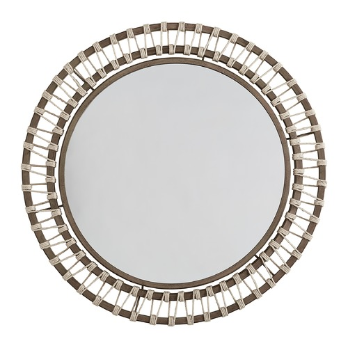 Capital Lighting Capital Lighting Independent 34.5-Inch Round Grey Wash and Grey Iron Mirror 740707MM