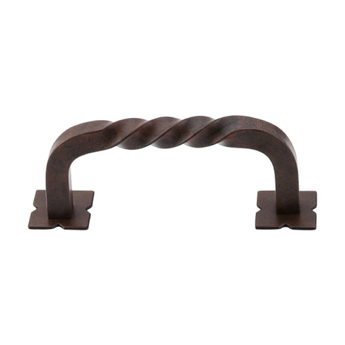 Top Knobs Hardware Cabinet Pull in Patina Rouge Finish M708