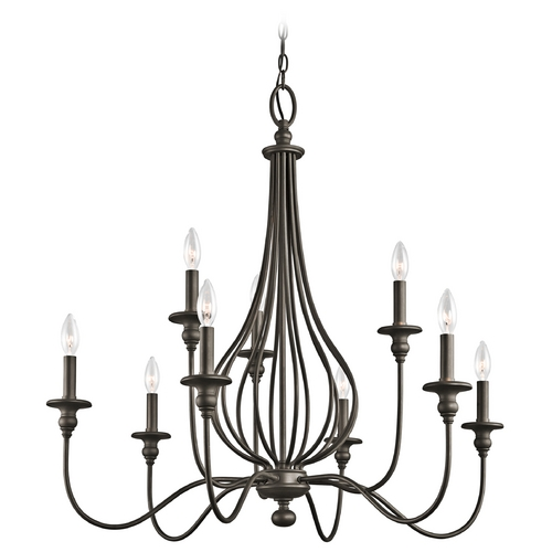 Kichler Lighting Kichler Chandelier in Olde Bronze Finish 43331OZ