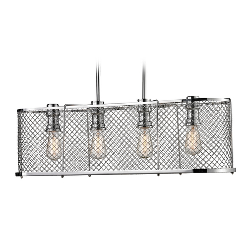 Elk Lighting Island Light in Polished Chrome Finish 55003/4