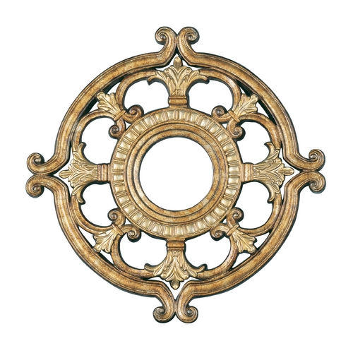 Livex Lighting Livex Lighting Vintage Gold Leaf Ceiling Medallion 8218-65