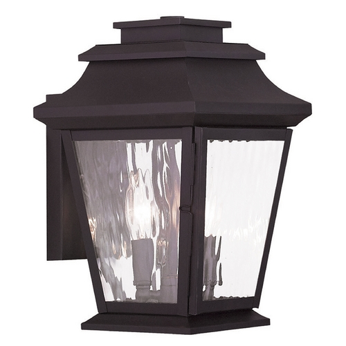 Livex Lighting Livex Lighting Hathaway Bronze Outdoor Wall Light 20232-07