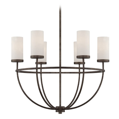 Savoy House Savoy House Lighting Elgin Galaxy Bronze Chandelier 1-580-6-42