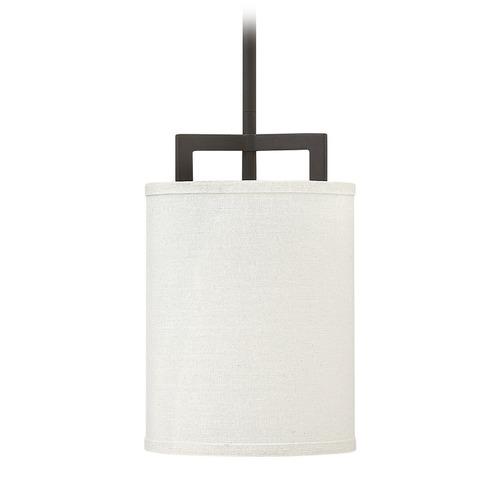 Hinkley Drum Lighting: Hinkley Lighting Hampton Buckeye Bronze Mini-Pendant Light