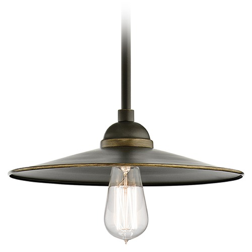Kichler Lighting Kichler Lighting Westington Olde Bronze Outdoor Hanging Light 49587OZ