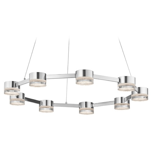 Elan Lighting Elan Lighting Avenza Chrome LED Pendant Light 83711