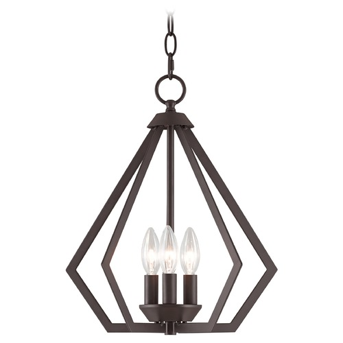 Livex Lighting Livex Lighting Prism Bronze Mini-Chandelier 40923-07