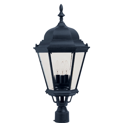 Maxim Lighting Maxim Lighting Westlake Black Post Light 1007BK