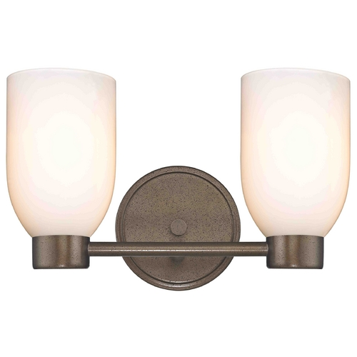 Design Classics Lighting Design Classics Lighting Aon Fuse Heirloom Bronze Bathroom Light 1802-62 GL1024D