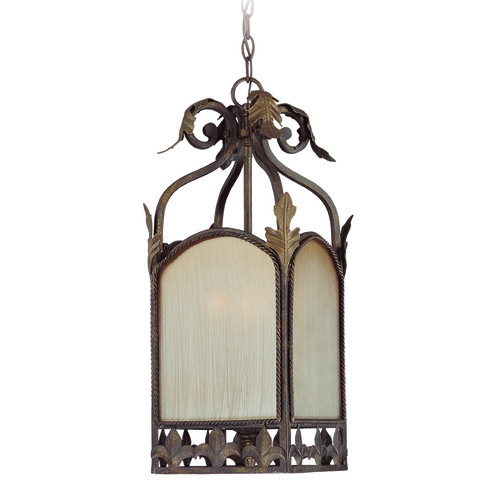 Jeremiah Lighting Jeremiah Devereaux Burleson Bronze Pendant Light with Square Shade 25733-BBZ