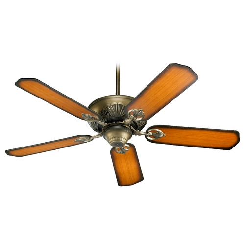 Quorum Lighting Quorum Lighting Chateaux Antique Flemish Ceiling Fan Without Light 78525-22