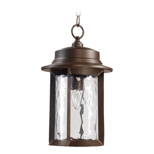 Quorum Lighting Quorum Lighting Charter Oiled Bronze Outdoor Hanging Light 7247-9-86
