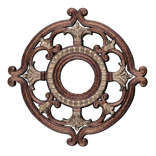 Livex Lighting Livex Lighting Palacial Bronze with Gilded Accents Ceiling Medallion 8218-64