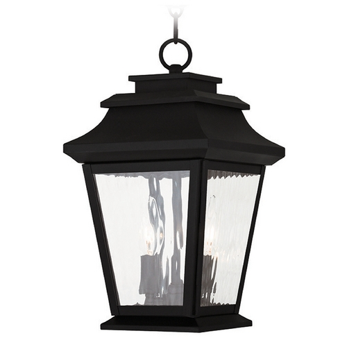 Livex Lighting Livex Lighting Hathaway Black Outdoor Hanging Light 20233-04